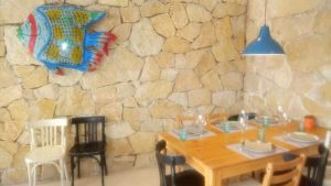 dining table at El Ambigu de la Coracha