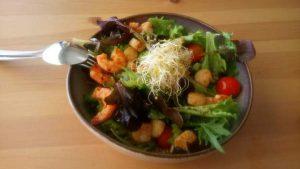 El Ambigu de la Coracha warm salad