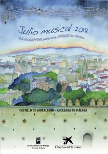 musical events in Malaga in July