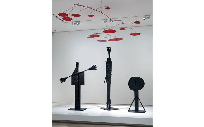 Calder Picasso art exhibition in Malaga