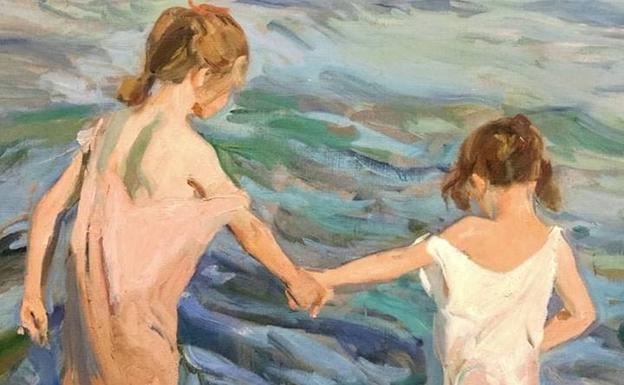 Sorolla art exhibition in Malaga in November