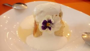 dessert at Niña Bonita Cantina