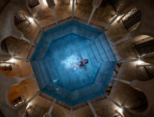visit a hammam in Malaga in January