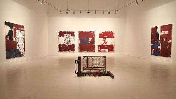 Carlos Leon at CAC Malaga art