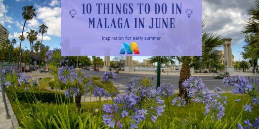View of Malaga Port to visit as 1 of the things to do in Malaga in June