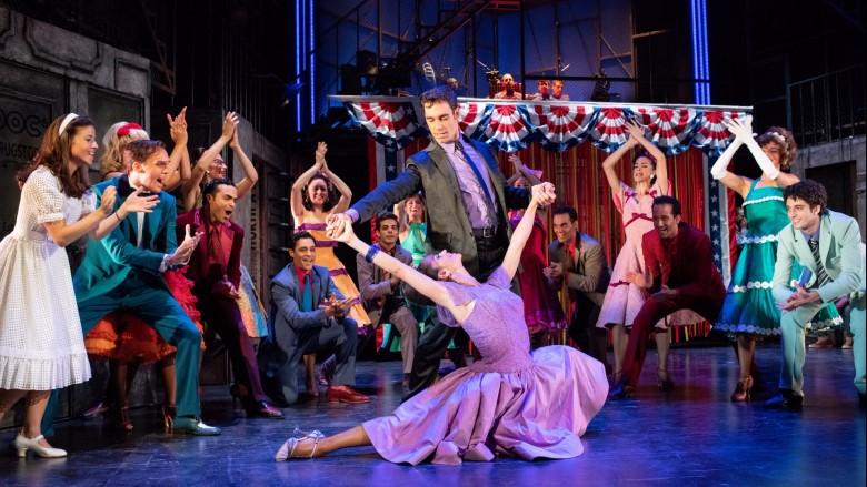 scene from West Side Story in Malaga