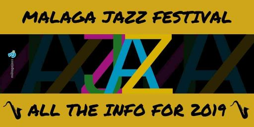official poster for Malaga Jazz Festival 2019