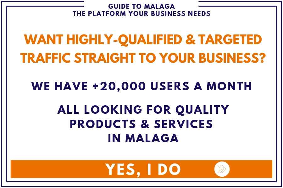 Qualified traffic straight to your Malaga business banner