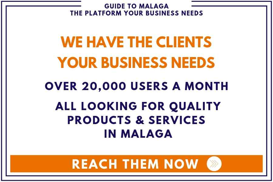 we have clients for your Malaga business English banner