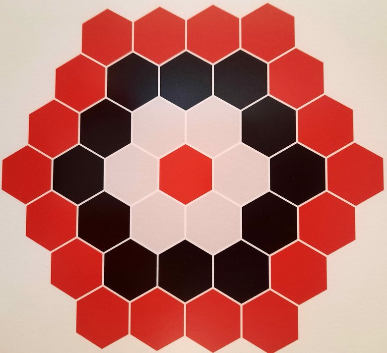 design on display at Malaga Patterns
