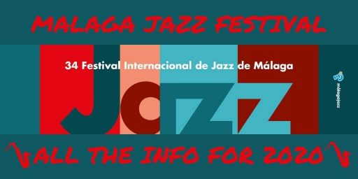 official poster for Malaga Jazz Festival 2020