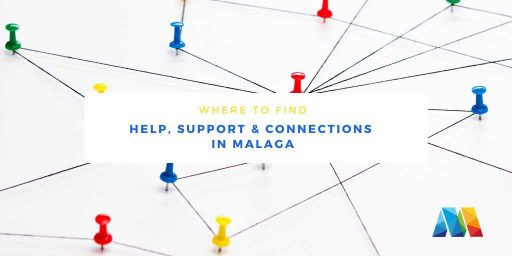 matrix representing connections between business associations in Malaga