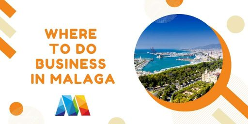 close-up to find main business sectors in Malaga