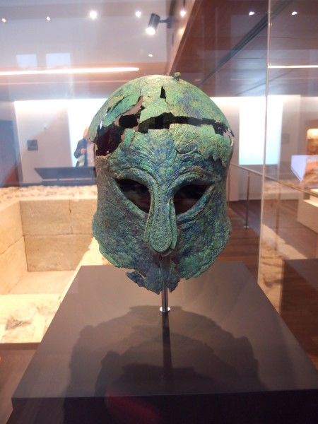 Phoenician mask at Museum of Malaga