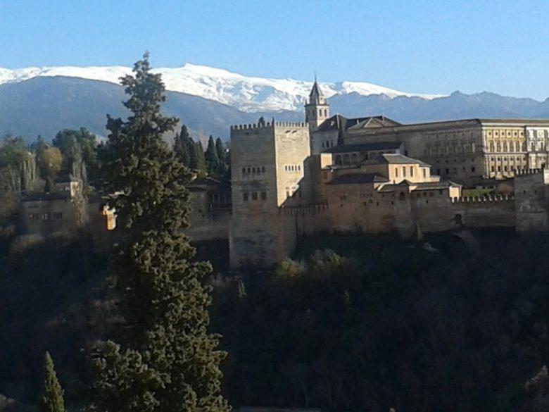 Alhambra, Sierra Nevada in Granada