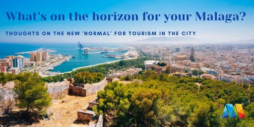 the Mediterranean horizon to wonder what's next for Malaga tourism