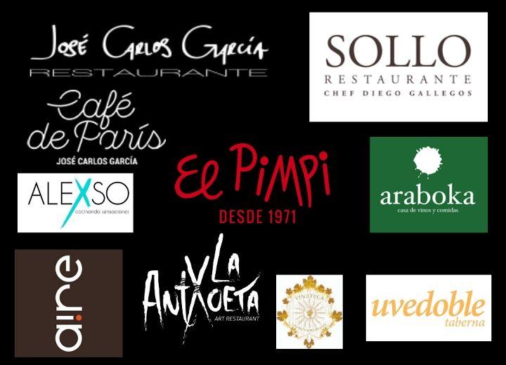 Malaga restaurant logos
