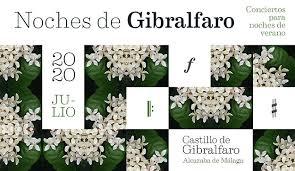 poster for noches de gibralfaro 2020