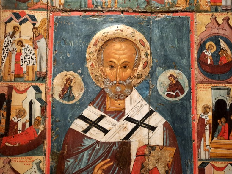 St Nicholas of Mira at the Russian Museum Malaga