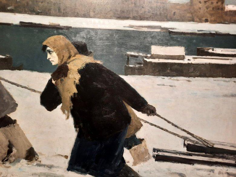 Leningrad Woman (1941) by Boris Ugarov