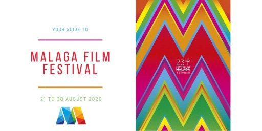 poster and dates for Malaga Film Festival 2020