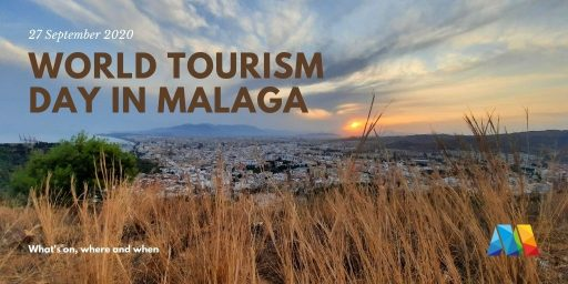 view of Malaga celebrating World Tourism Day