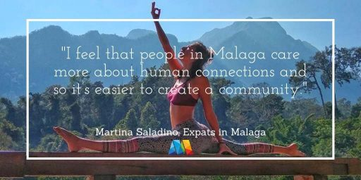 People in Malaga quote for expats interview