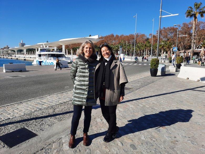 Joanna Styles and Angela Rodicio