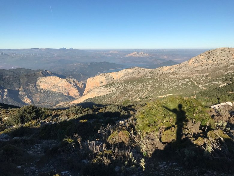 Hiking sporting activities in Malaga include these views