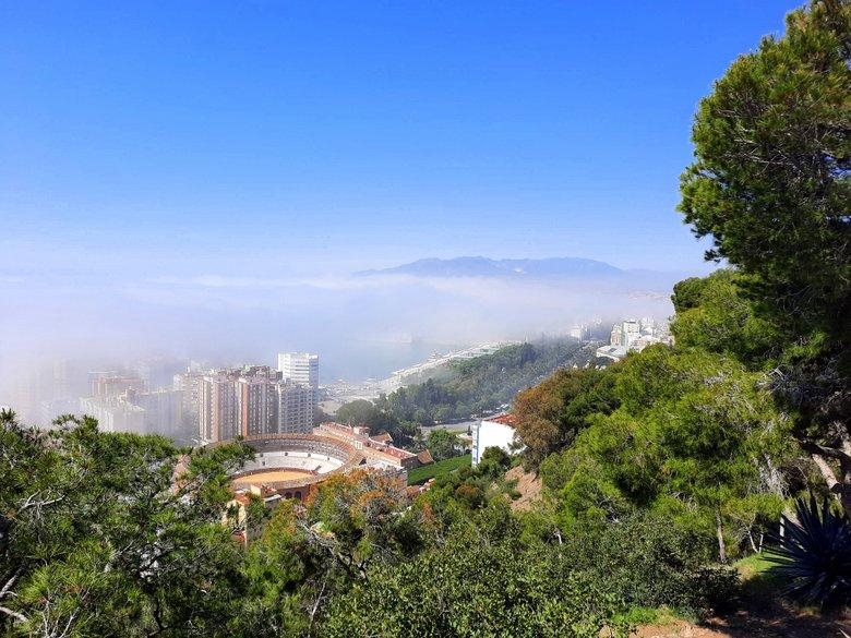 Views of Malaga seen on an e-bike tour