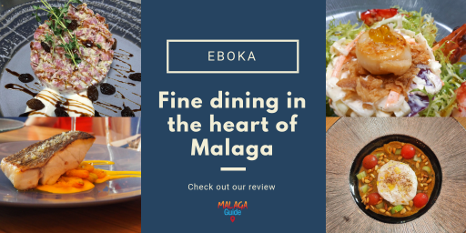 Eboka restaurant in Malaga