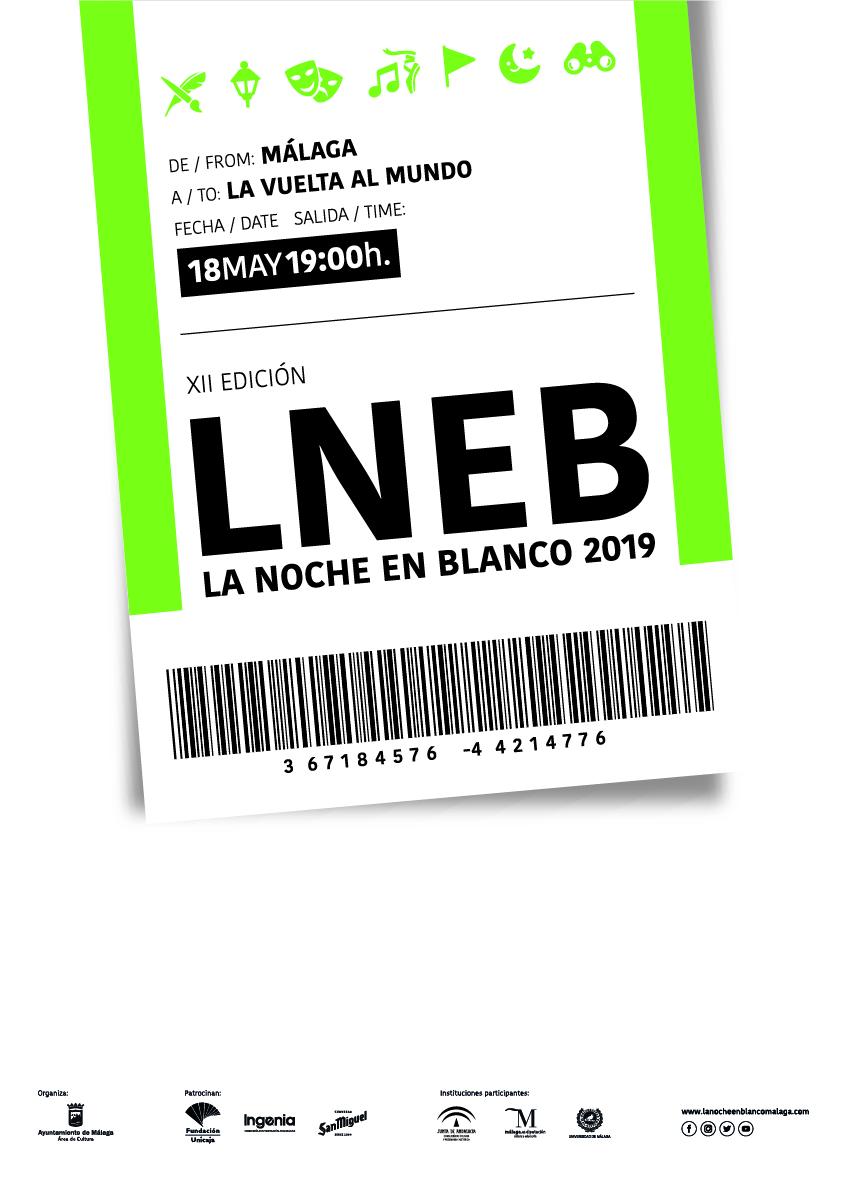 Noche en blanco Malaga 2019