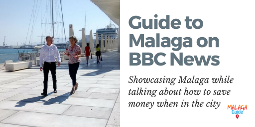 Filming for Guide to Malaga featured on BBC News