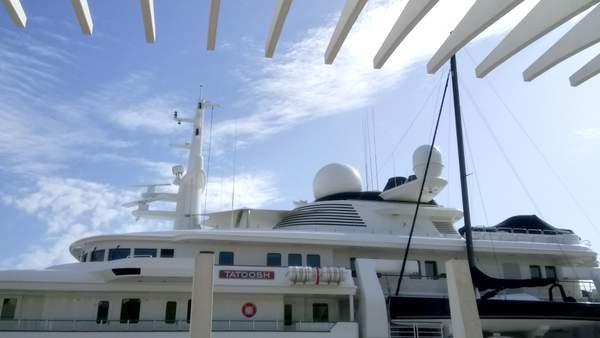 Tatoosh mega yacht in Malaga