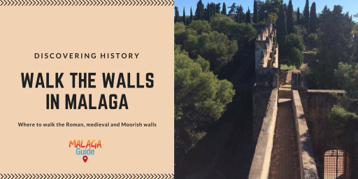 historical walls in Malaga