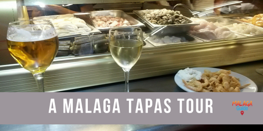 Bar and drinks on Malaga tapas tour