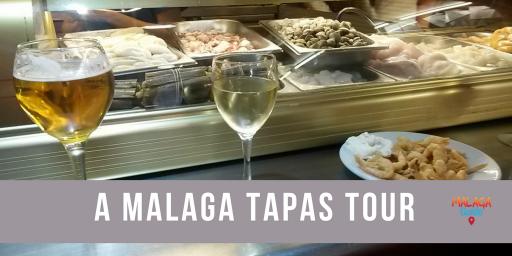 Bar and drinks on Malaga tapas tour