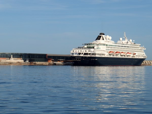 cruise ships in Malaga moored in the Port