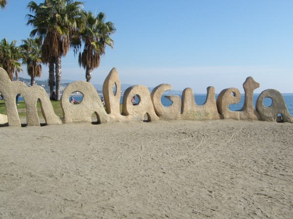 La Malagueta beaches in Malaga
