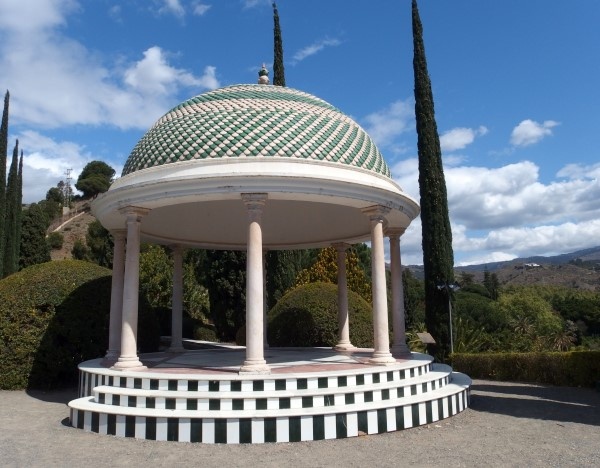 symbol of botanical gardens in Malaga