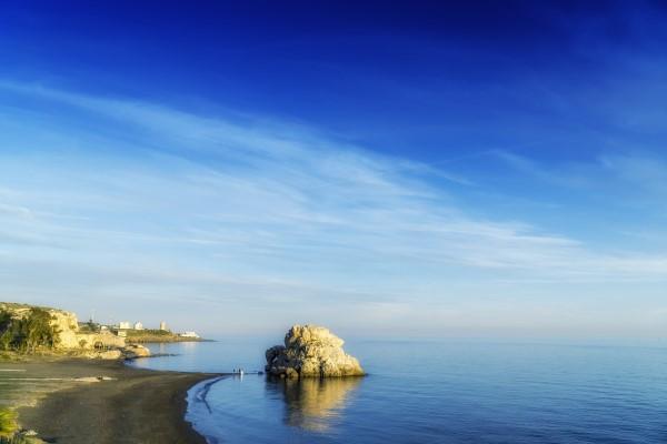 Penon del Cuervo beaches in Malaga